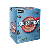 Swiss Miss Milk Chocolate Hot Cocoa, Keurig® K-Cup® Pods, 22/Box (1252)