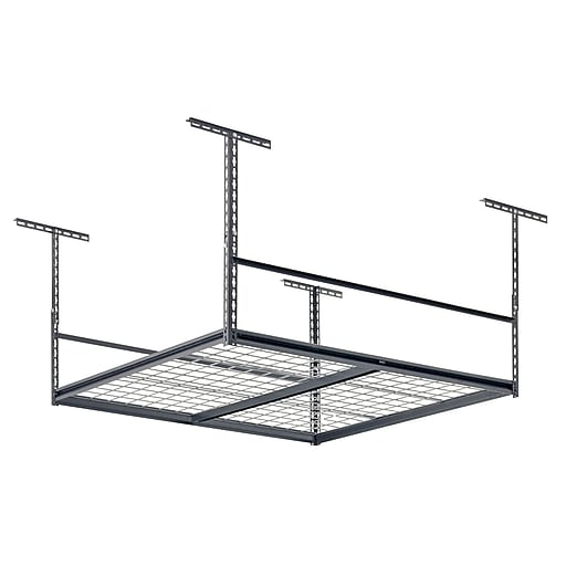 "Sandusky Muscle Rack Adjustable Ceiling Shelving Unit, 48""W x 48""D, (LR4848-SV)"