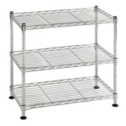 "Sandusky Mini Wire Shelving, 18""W, Chrome, Silver (WS181018-C)"