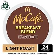 McCafe Breakfast Blend Coffee, Keurig K-Cup Pods, Light Roast, 24/Box (5000201384)