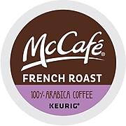 McCafe French Roast Coffee, Keurig® K-Cup® Pod, Dark Roast, 96/Carton (080429)