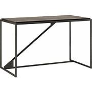 "Bush Furniture Refinery 49"" Engineered Wood Industrial Desk, Dark Gray Hickory (RFD150GH-03)"