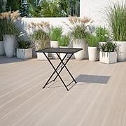 "Flash Furniture 28"" Black Folding Patio Table (CO1BK)"