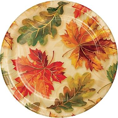 Creative Converting Fall Flourish Dessert Plates, 7