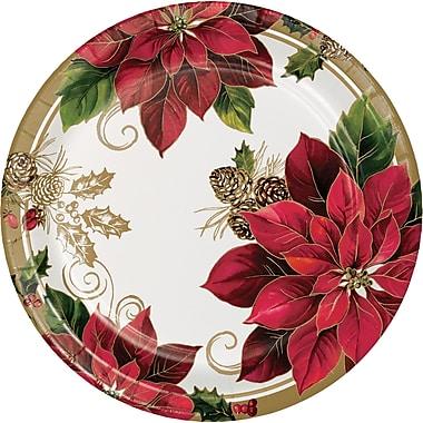 Creative Converting Golden Greenery Banquet Plates, 10