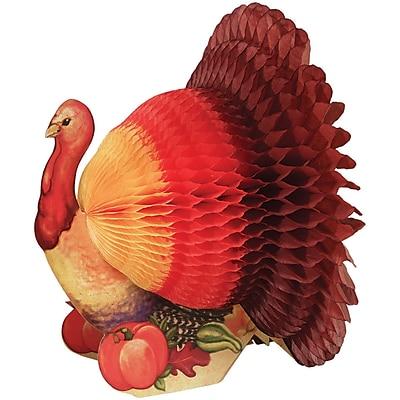 Creative Converting Large Thanksgiving Turkey Centerpiece, 12