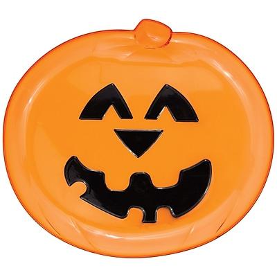 Creative Converting Pumpkin Serving Tray, 12.5
