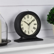 "FirsTime Antollini 5""H Black Tabletop Clock (99516)"