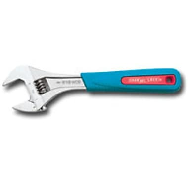 Channelock Inc 6 in. Adjustable Wide Capacity Code Blue Grip Wrench (EGLT15985)