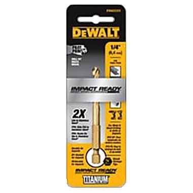 Dealt Accessories DWA1214 0.21 in. Pilot Point Industrial Grade Cobalt Drill Bit (TRVAL81727)