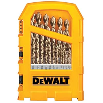 DeWalt 29-Piece Pilot Point Heavy-Duty Drill Bit Set