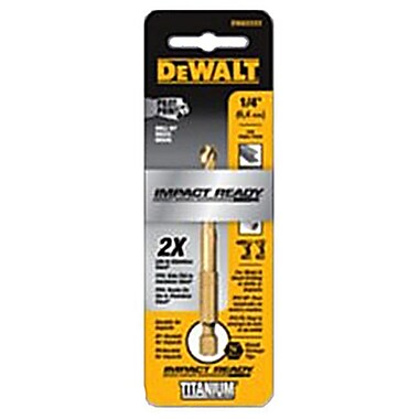 Dealt Accessories DWA1228 0.43 in. Pilot Point Industrial Grade Cobalt Drill Bit (TRVAL81716)