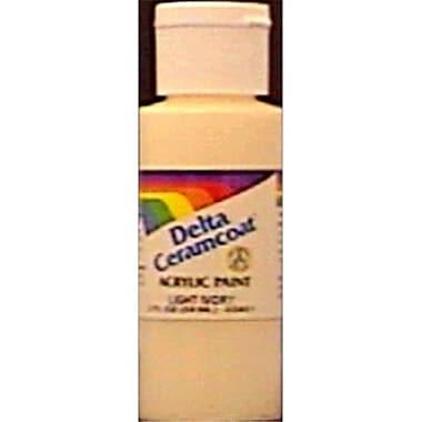 Plaid:Delta Ceramcoat Acrylic Paint 2 Ounces-Pretty Pink- Semi-Opaque (NMG80237)