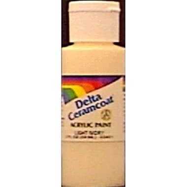 Plaid:Delta Ceramcoat Acrylic Paint 2 Ounces-Candy Bar Brown- Opaque (NMG80208)