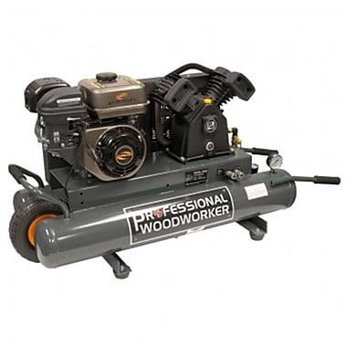 Professional Woodworker 6.5 Hp 9 Gallon Gas Wheelbarrow Air Compressor (NATI128)