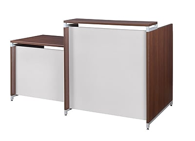Regency OneDesk Reception Desk Shell, Java (ONRD7630JV)