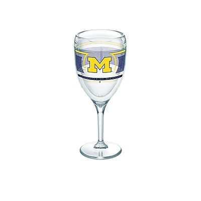 Tervis NCAA Michigan Wolverines Reserve 9 oz. Wine Glass (888633462637)