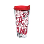 Tervis NCAA Alabama Crimson Tide All Over 24 oz. Tumbler with Lid (888633527947)