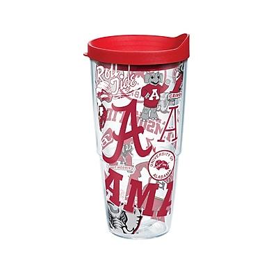 Tervis NCAA Alabama Crimson Tide All Over 24 oz. Tumbler with Lid (888633527947)