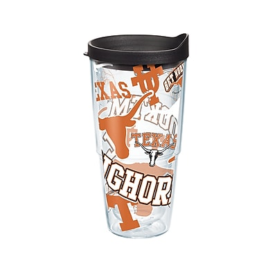 Tervis NCAA Texas Longhorns All Over 24 oz. Tumbler with Lid (888633545033)