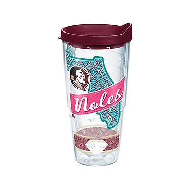 Tervis NCAA Florida State Seminoles Class 24 oz. Tumbler with Lid (888633574620)