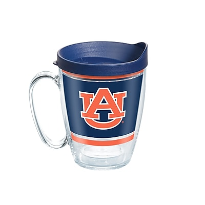 Tervis NCAA Auburn Tigers Legend 16 oz. Coffee Mug with Lid (888633650720)
