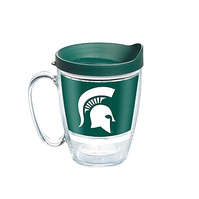 Tervis NCAA Michigan State Spartans Legend 16 oz. Coffee Mug with Lid (888633651727)