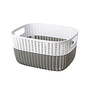 Simplify Small Storage Basket, Gray (26310-Gray)