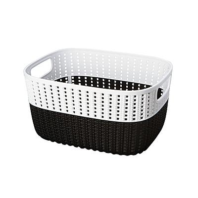 Simplify Storage Basket, Large, Black (26312-BLACK)