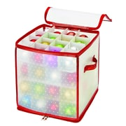 Simplify Ornament Organizer, 64-Count, Red (9002-RED)