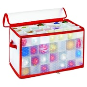 Simplify Ornament Organizer, 112-Count, Red (9003-RED)