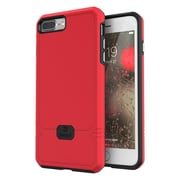 Jaagd Shock-Absorbing Case for iPhone 7 Plus, 7s Plus (Red)