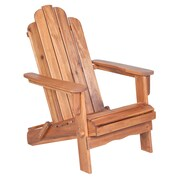Walker Edison Acacia Adirondack Chair - Brown (SPWACBR)