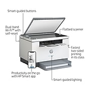 HP LaserJet MFP M234dw Wireless Black & White All-in-One Printer, Instant Ink Ready (6GW99F)