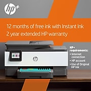HP OfficeJet Pro 8035e Wireless Color All-in-One Printer (Basalt) with up to 12 months Instant Ink with HP+ (1L0H6A)