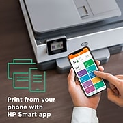 HP OfficeJet Pro 9015e All-in-One Wireless Color Printer, with bonus 6 months free Instant Ink with HP+ (1G5L3A)