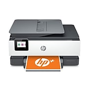 HP OfficeJet Pro 8025e All-in-One Wireless Color Printer, with bonus 6 months free Instant Ink with HP+ (1K7K3A)
