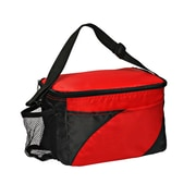 Natico Red and Black Insulated Cooler Bag (60-LN-16RD)