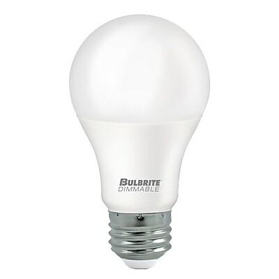 Bulbrite LED A19 9W Dimmable 5000K Soft Daylight Light Bulb, 8 Pack (774122)