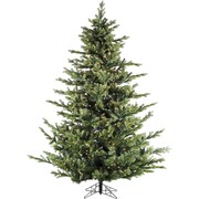 Fraser Hill Farm 12.0-Ft. Foxtail Pine with Multi-Color LED String Lighting (FFFX012-6GREZ)