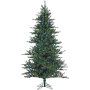 Fraser Hill Farm 12 Ft. Southern Peace Pine Christmas Tree with Multi-Color LED String Lighting (FFSP012-6GR)