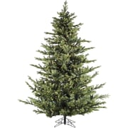 Fraser Hill Farm 9 Ft. Foxtail Pine Christmas Tree with Clear LED String Lighting (FFFX090-5GR)