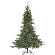Fraser Hill Farm 7.5 Ft. Noble Fir Pine Christmas Tree with Multi-Color LED String Lighting (FFNF075-6GR)