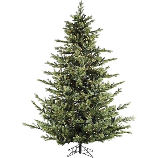 Fraser Hill Farm 9 Ft. Foxtail Pine Christmas Tree with Smart String Lighting (FFFX090-3GR)
