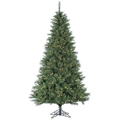 Fraser Hill Farm 12 Ft. Canyon Pine Christmas Tree with Smart String Lighting (FFCM012-3GR)