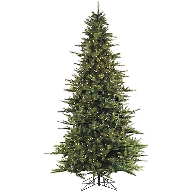 Fraser Hill Farm 6.5 Ft. Southern Peace Pine Christmas Tree with Smart String Lighting (FFSP065-3GR)