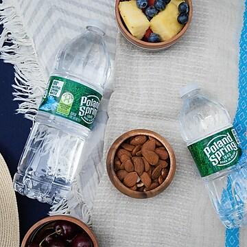 Poland Spring 100% Natural Spring Water, Regular Flavor, 16.9 oz., 24/Carton (12119419)