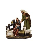 """Northlight 13"""" Nativity Scene with Joseph  Mary and Baby Jesus Religious Christmas Table Top Figure (32261446)"""