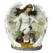 """Northlight 12"""" Guardian Angel and the Holy Family Nativity Scene Christmas Table Top Decoration (32260935)"""