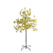 Northlight 5' LED Lighted Artificial Fall Harvest Yellow Maple Leaf Tree - White Lights (32267180)